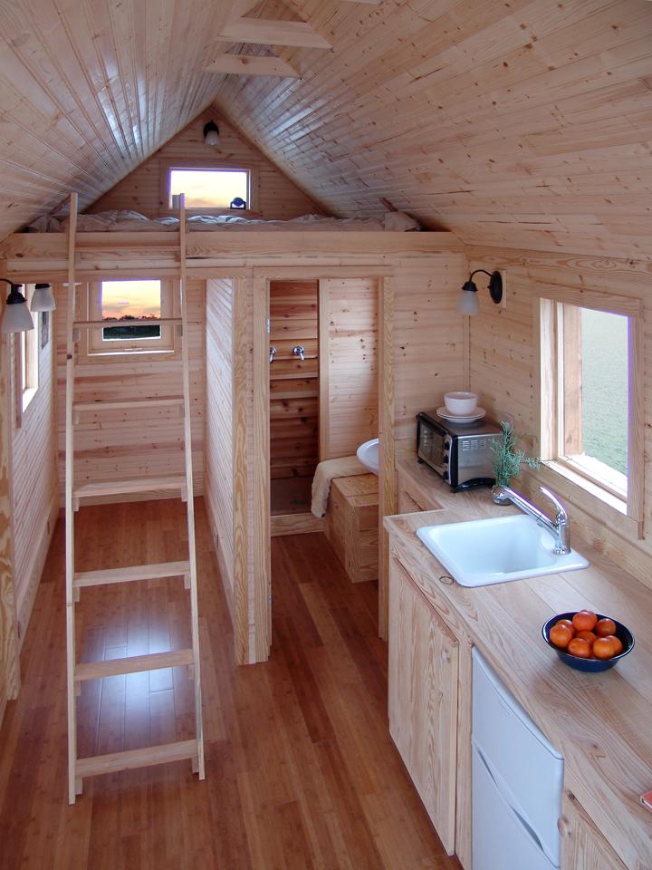 Интерьер маленького дома внутри фото