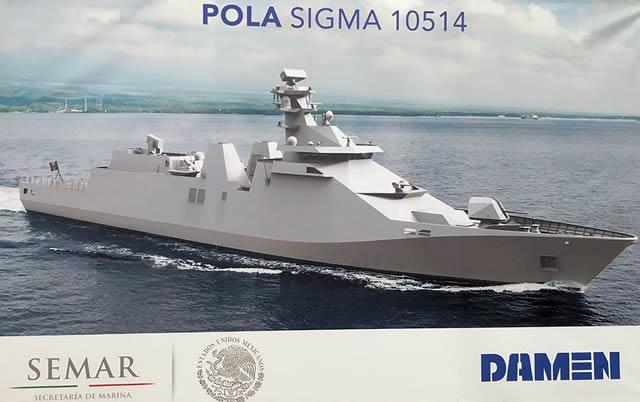 Мексика приобретает противокорабельные ракеты Harpoon для своего нового фрегата