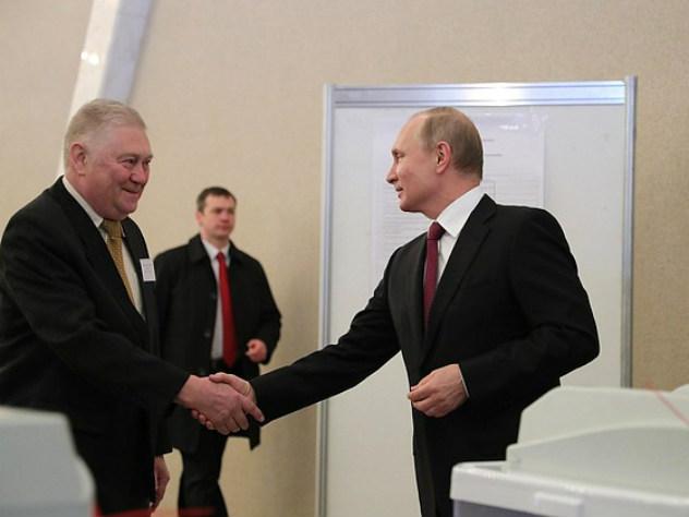 Путин проголосовал и признался, какой результат на выборах его устроит