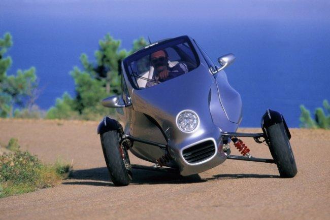 Трехколесный автомобиль Mercedes-Benz