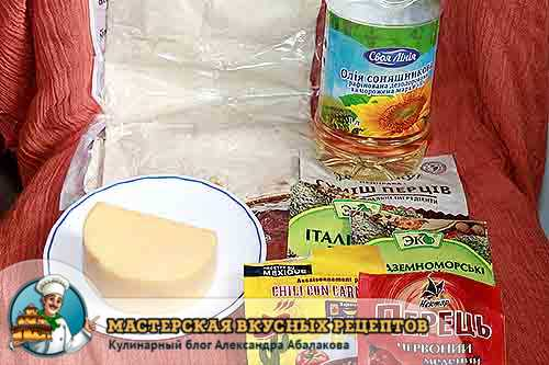 сыр лаваш масло