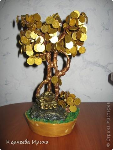 Мастер-класс День рождения Моделирование конструирование Денежное дерево МК фото 1