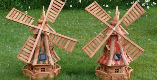 Поделки мельница своими руками из дерева