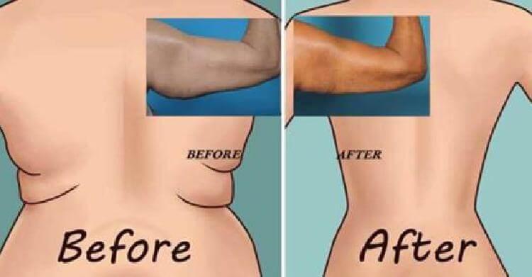 Попробуйте 6 самых легких упражнений для сжигания жира в области спины и подмышек