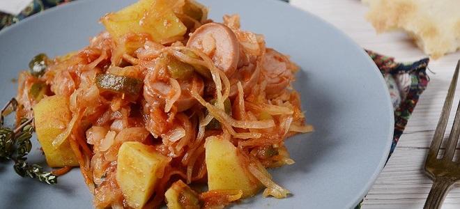 солянка из квашеной капусты