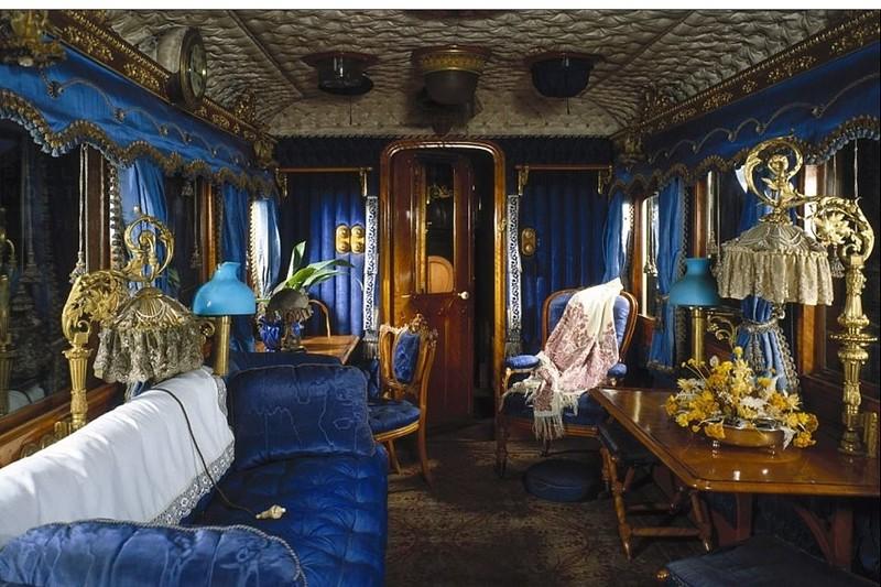 Викторианский поезд, функционирующий по сей день