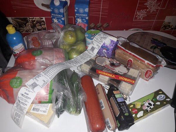 Муж сходил в магазин, и купил продукты на свое усмотрение. Что из этого вышло