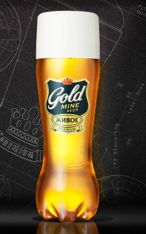 В России выпустили пиво в форме бокала