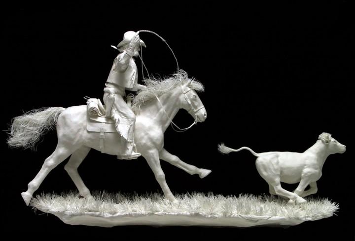 allen eckman art 18 Невероятные скульптуры, вылитые из бумаги