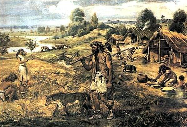 Топор в каменном веке