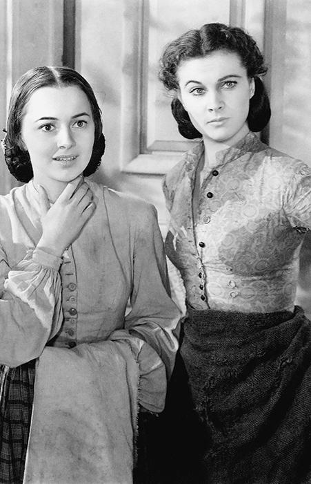 Оливия де Хэвилленд и Вивьен Ли.