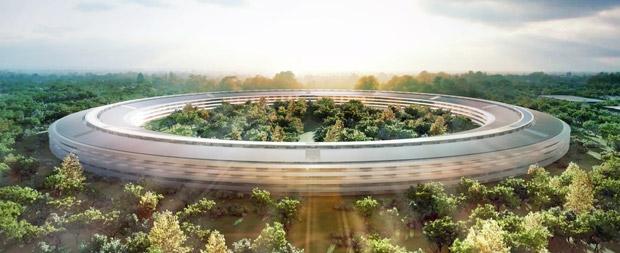 Новое здание Apple будет достроено к 2016 году