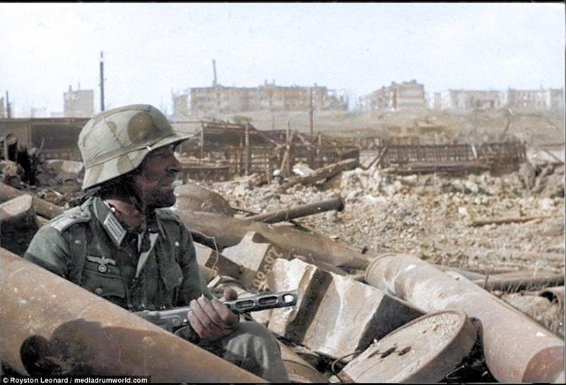 Сталинградская битва (фото). Яркая коллекция цветных фотографий Сталинградской битвы (1942-1943)