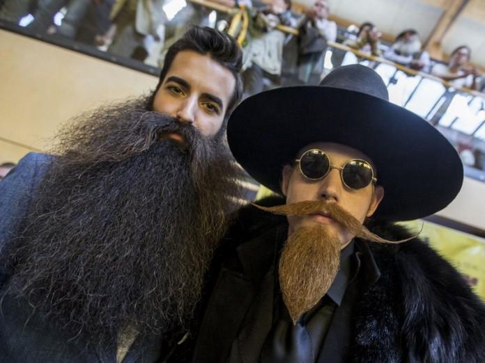 Фото со Всемирного чемпионата бород и усов