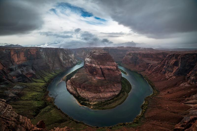 Подкова, река Колорадо, Аризона  Северная Америка, путешествие, фотография