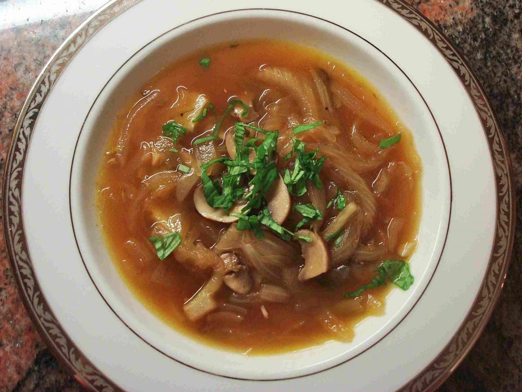 Суп с шампиньонами и вермишелью. Рецепт, советы по приготовлению