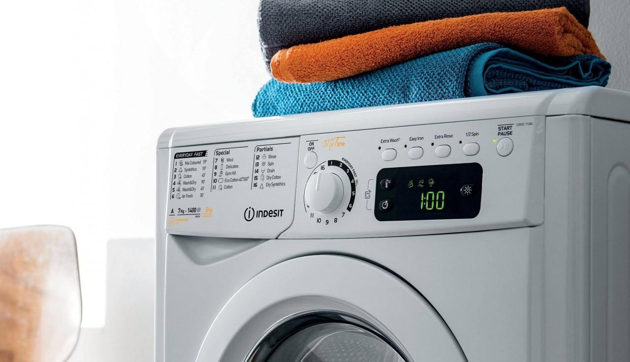 Описание режимов стирки в стиральной машине Индезит из инструкции