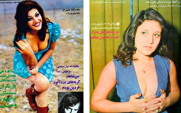 А ведь еще 40 лет назад Иран был таким