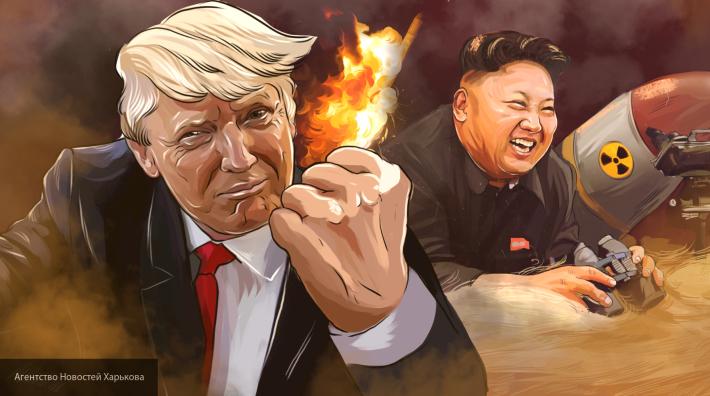Дональд Трамп пообещал разобраться с ядерной угрозой КНДР