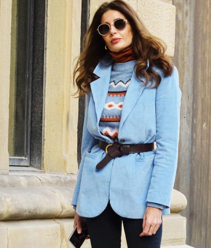 Мода для женщин за 50 от стройной испанки Pilar De Arce