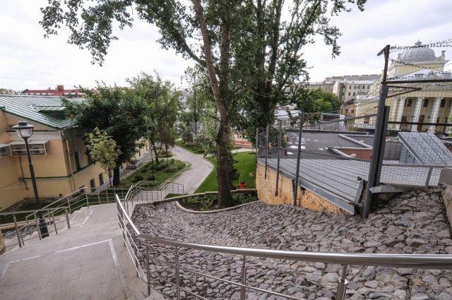 Собянин рассказал о благоустройстве переулков в центре Москвы