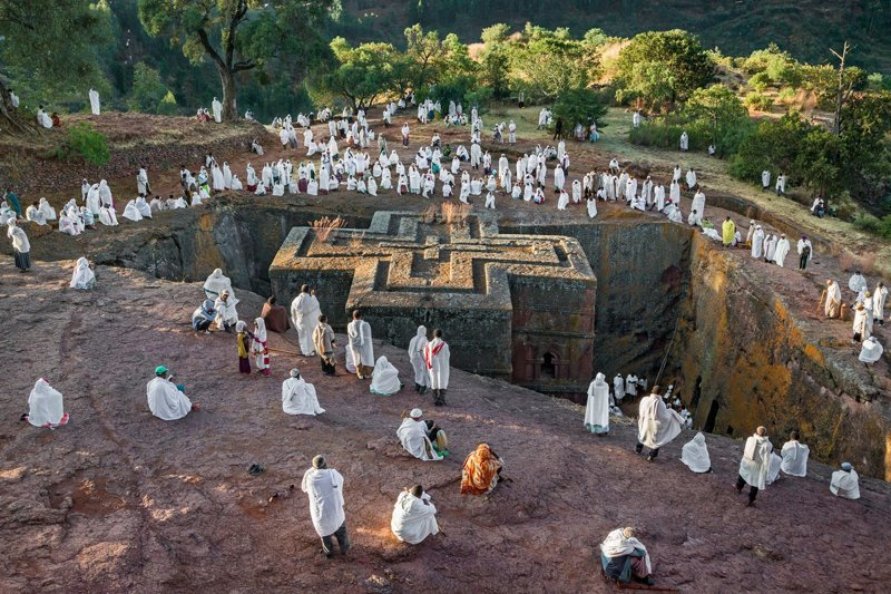 Церковь Бет Гиоргис, Лалибэла в мире, жизнь, интересно, удивительно, церковь, эфиопия