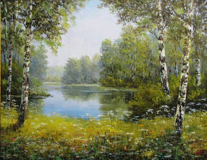художник Евгений Синев картины - 06