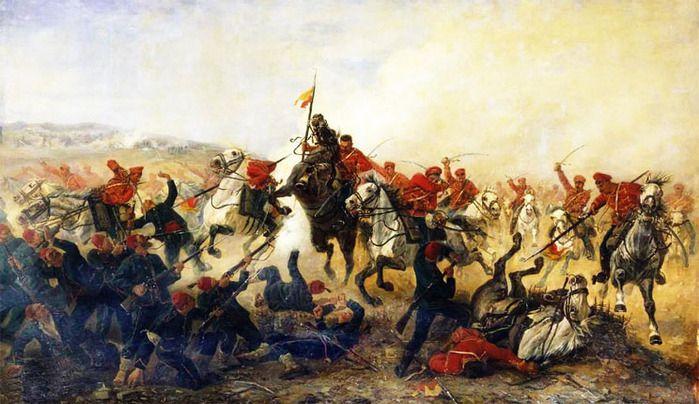 300 спартанцев по-русски (Поход против персов в 1805-ом году) 300, 1805, спартанцев, по-русски, поход, против, персов, году
