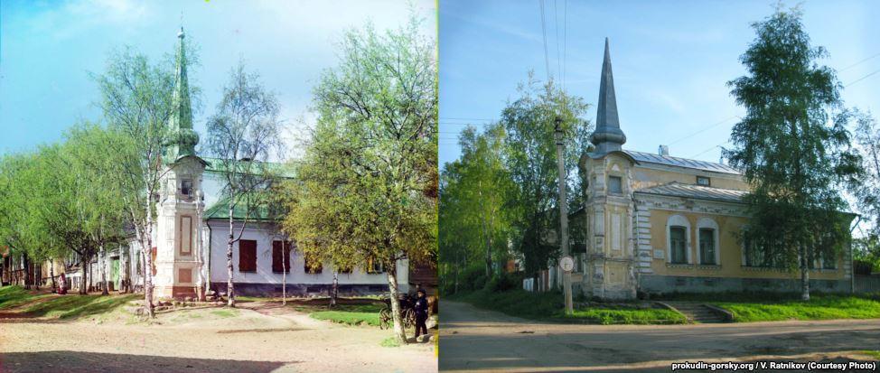 Россия 100 лет назад и сейчас