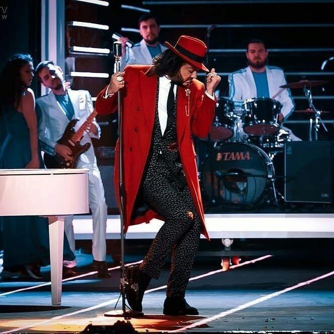 11. Филипп Киркоров попытался быть похож на Майкла Джексона Золотой граммофон, звезды, знаменитости, красная ковровая дорожка, премия, фото, худшие образы