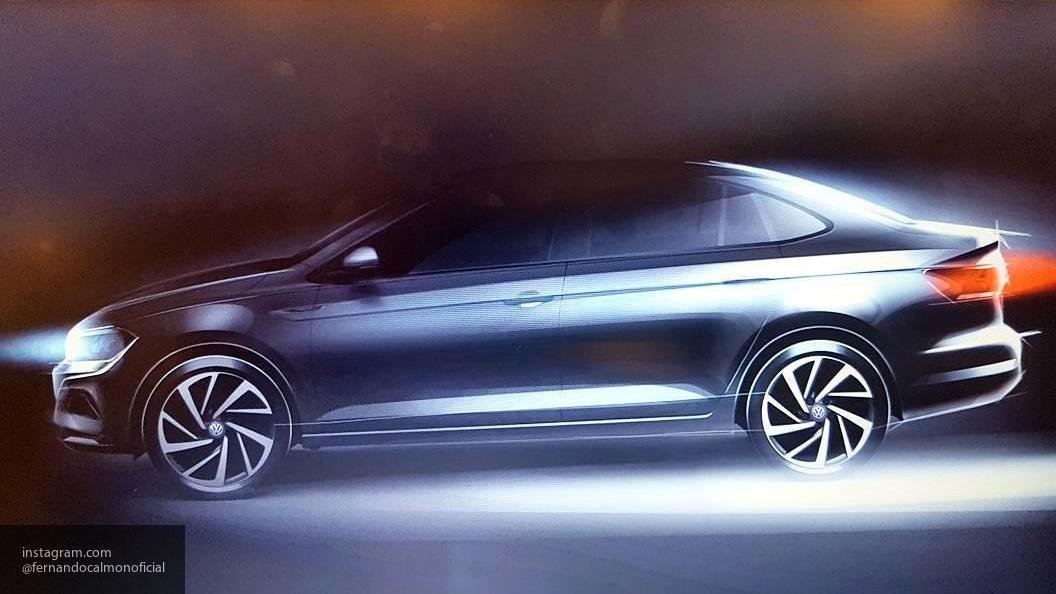 Volkswagen опубликовал первый тизер седана Jetta нового поколения