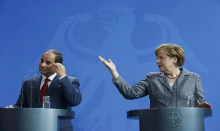 Канцлер ФРГ ипрезидент АРЕ обсудят борьбу стерроризмом, мигрантов иЛивию