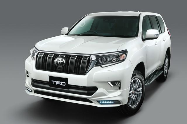 Тюнинг Toyota Prado 2018: два ателье подготовили проекты