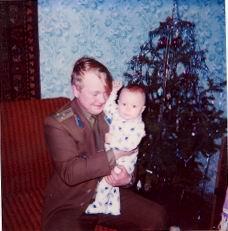 За ёлками - 1993 (новогоднее, таёжное)