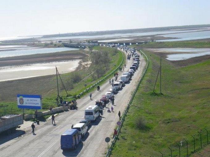 Ежегодная украинская миграция в Крым продолжается