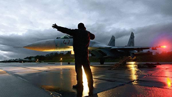 Российский Су-27 перехватил самолет-разведчик США над Балтикой