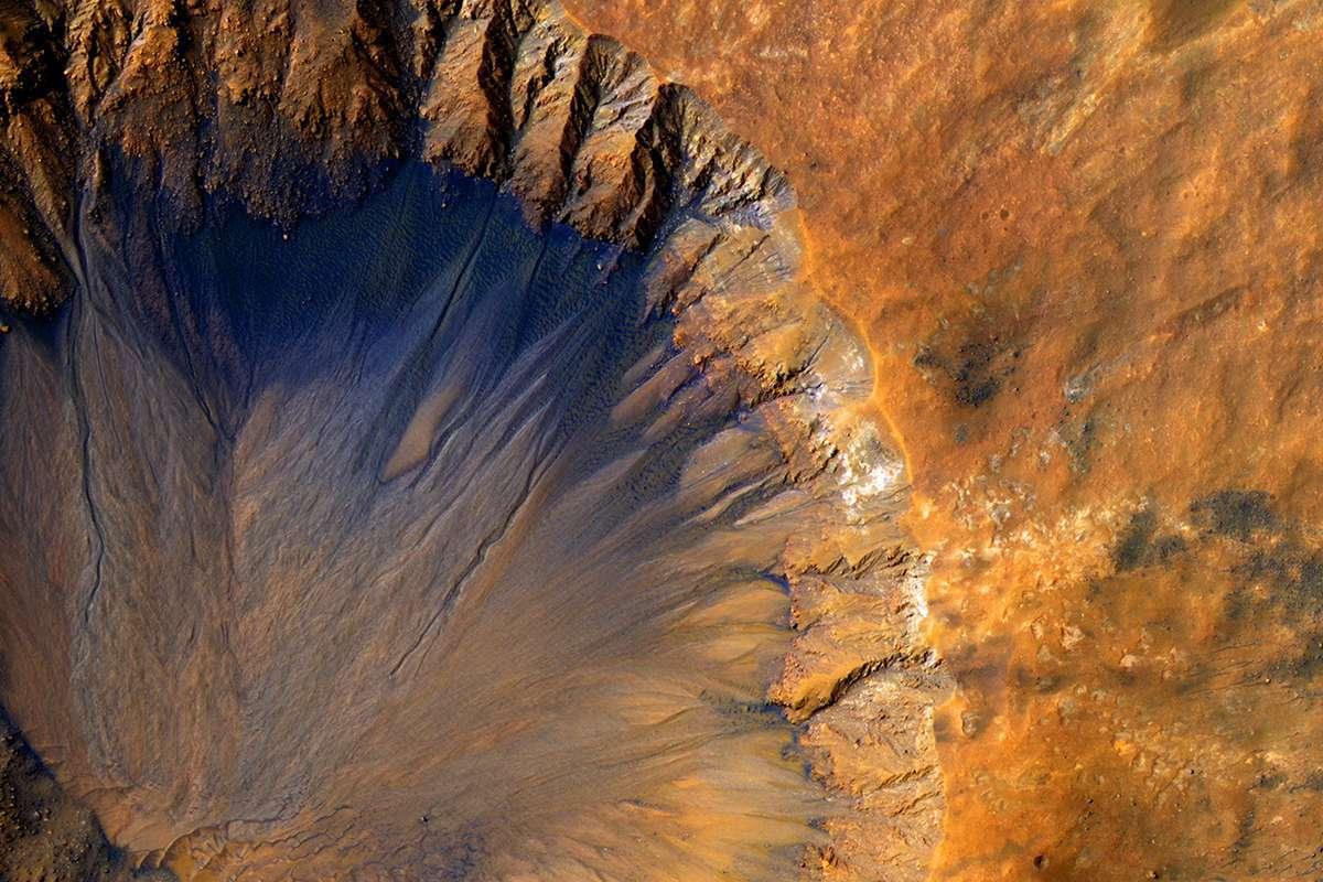 Ученые рассказали о погоде на раннем Марсе