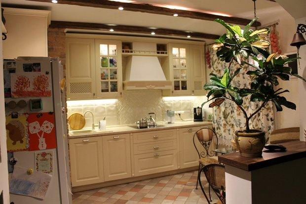 Кухня: в квартире, но как в частном доме