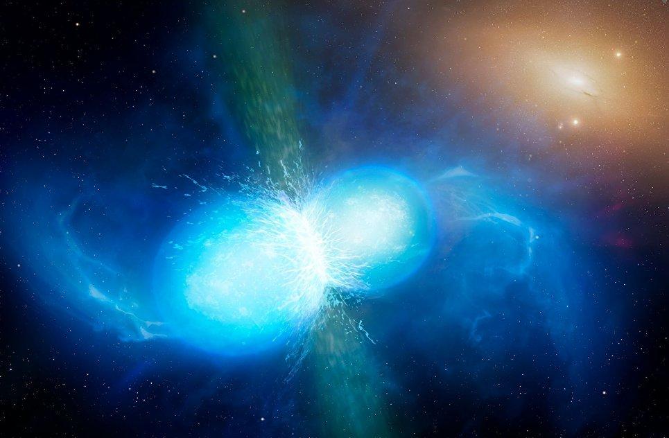 Гравитационные волны раскрыли секрет рождения всех запасов золота Вселенной