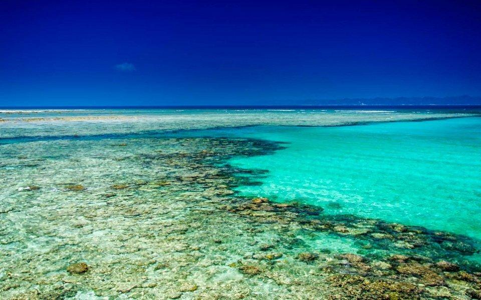 Где самая голубая вода в мире