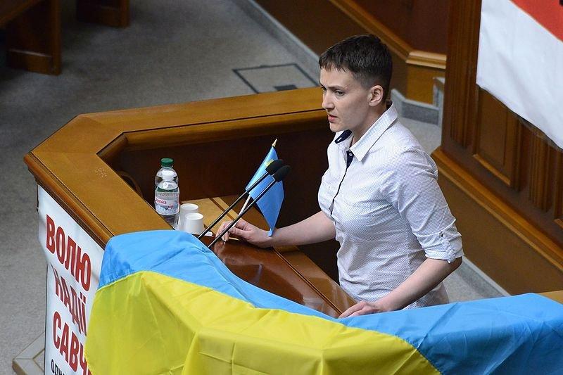 «Чтобы больше людей во всем мире поняли»: Савченко на русском языке рассказала о террористических планах