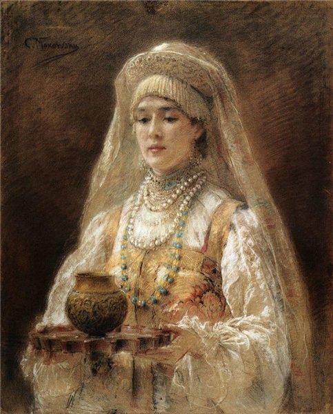 Боярышни Константина Маковского - гимн русским красавицам