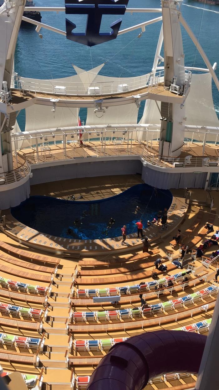 Отдых на самом большом лайнере в мире