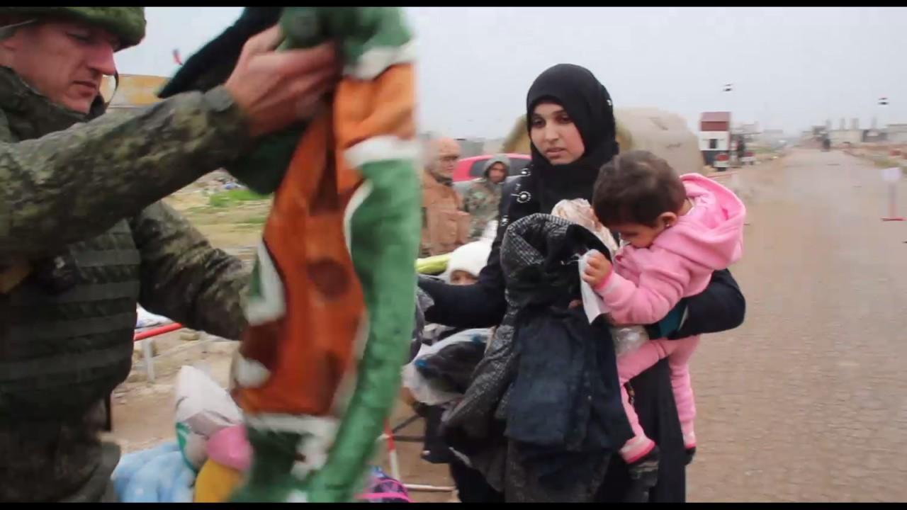 Военные РФ провели гуманитарные акции в провинциях Сирии