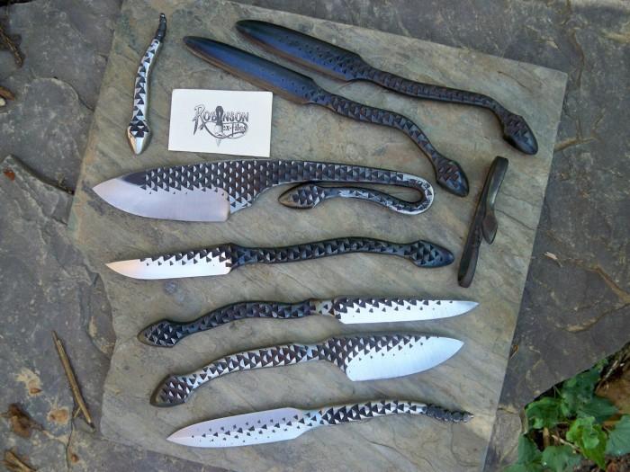 Ножи сделанные из неожиданных вещей вещи, неожиданно, ножи
