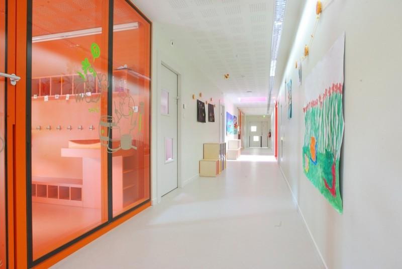 Энергоэффективный детский сад во Франции архитектура, дизайн, интерьер