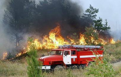 Режим ЧС введен в Бурятии из-за лесных пожаров