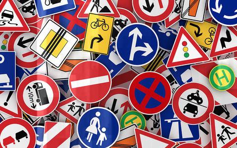 Десятки новых дорожных знаков: запомните их все