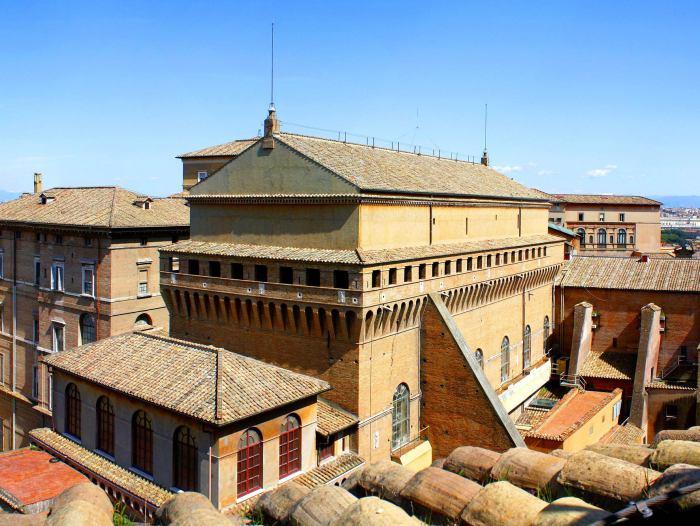Сикстинская капелла в Ватикане.