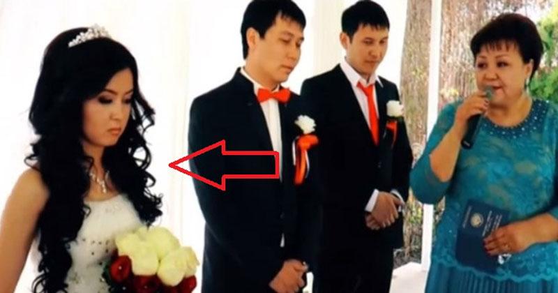 Невеста сбежала во время вен…